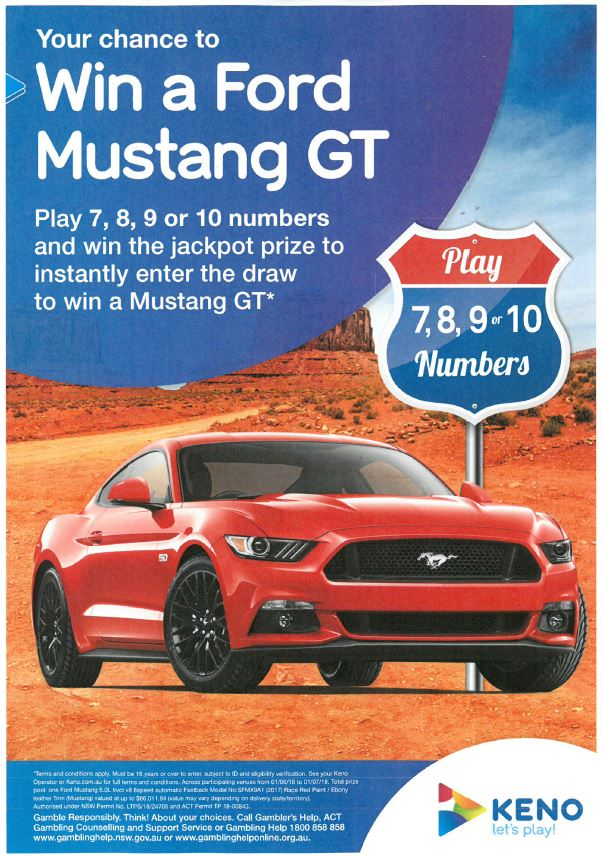 WIN A FORD MUSTANG GT