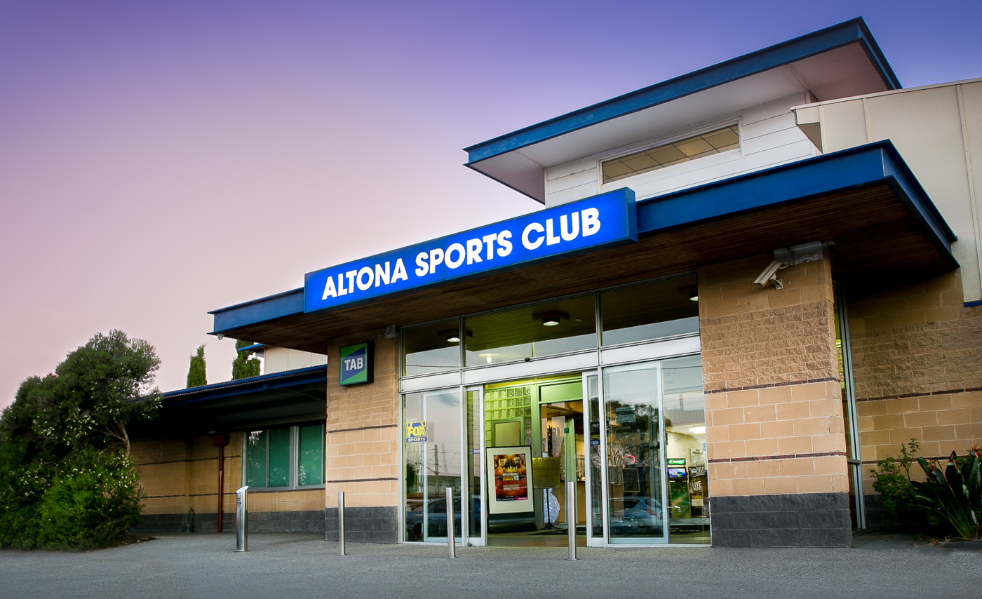 Altona Sports Club Entrance